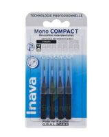 Inava Brossettes Mono-compact Noir Iso 0- 0,6mm à PÉLISSANNE