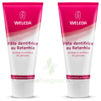 Weleda Duo Pâte Dentifrice Au Ratanhia 150ml à PÉLISSANNE
