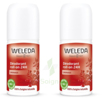 Weleda Duo Déodorant Roll-on 24h Grenade 100ml à PÉLISSANNE