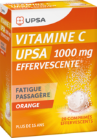 Vitamine C Upsa Effervescente 1000 Mg, Comprimé Effervescent à PÉLISSANNE